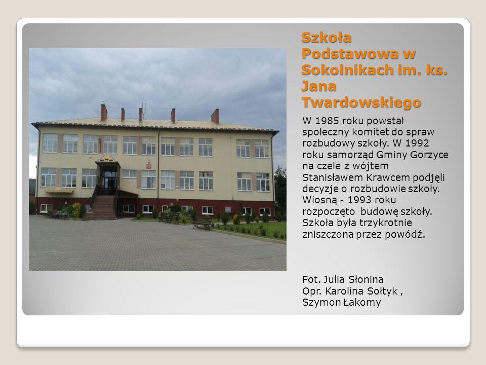 Szkoła Podstawowa w Sokolnikach im. ks. Jana Twardowskiego