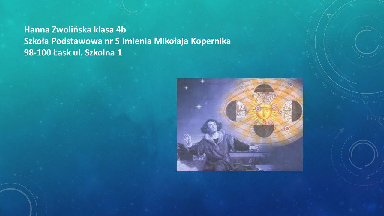Hanna Zwolińska klasa 4b