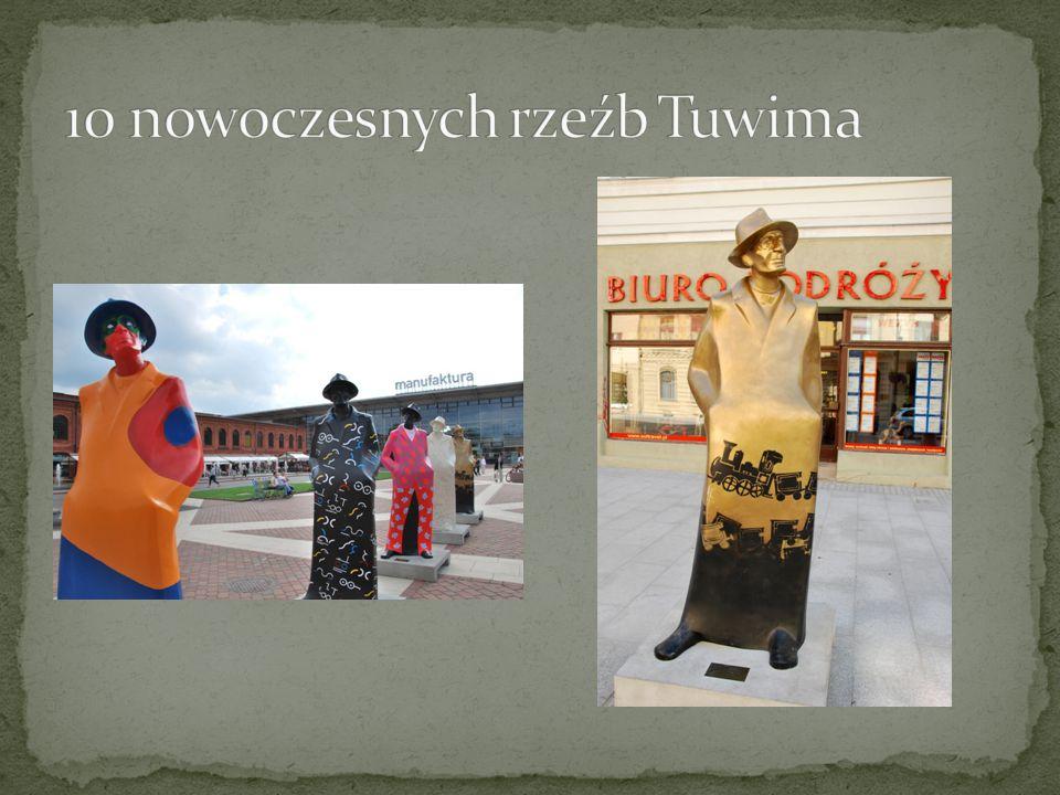 10 nowoczesnych rzeźb Tuwima