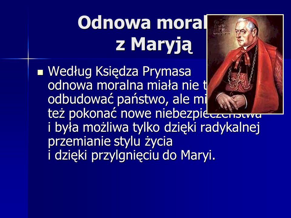 Odnowa moralna z Maryją