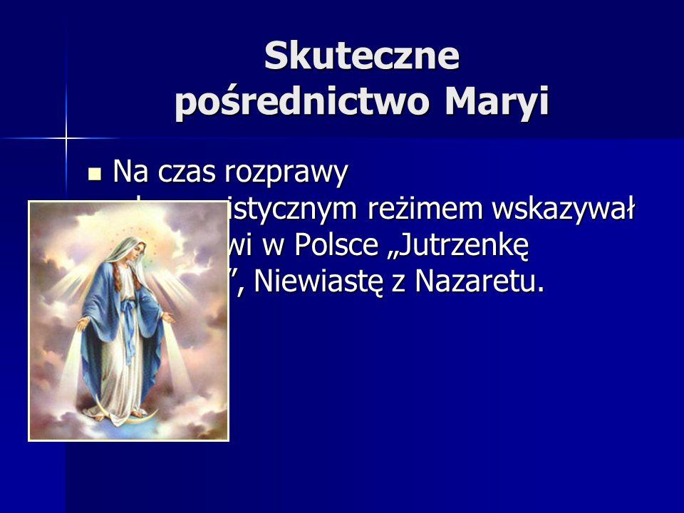 Skuteczne pośrednictwo Maryi