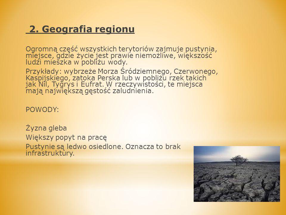 2. Geografia regionu