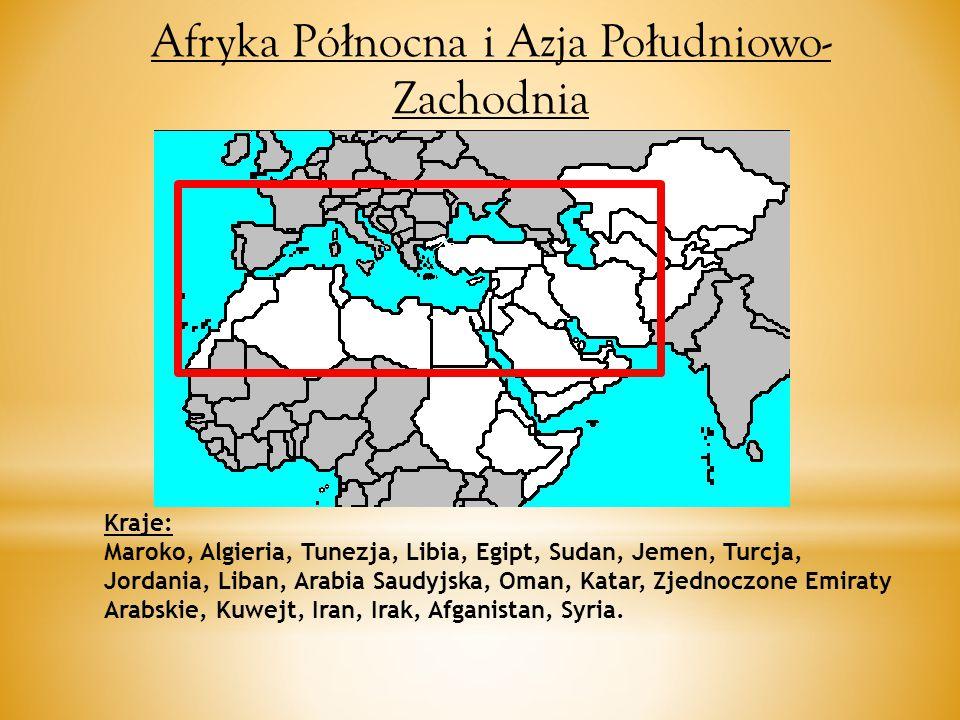 Afryka Północna i Azja Południowo-Zachodnia