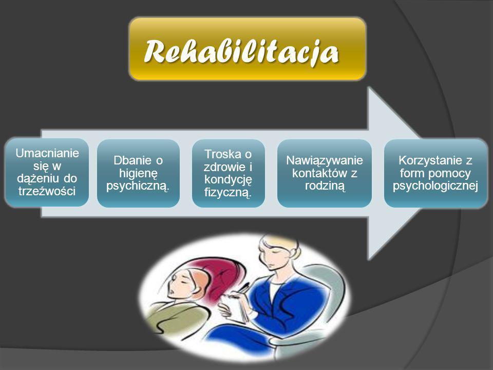 Rehabilitacja Umacnianie się w dążeniu do trzeźwości
