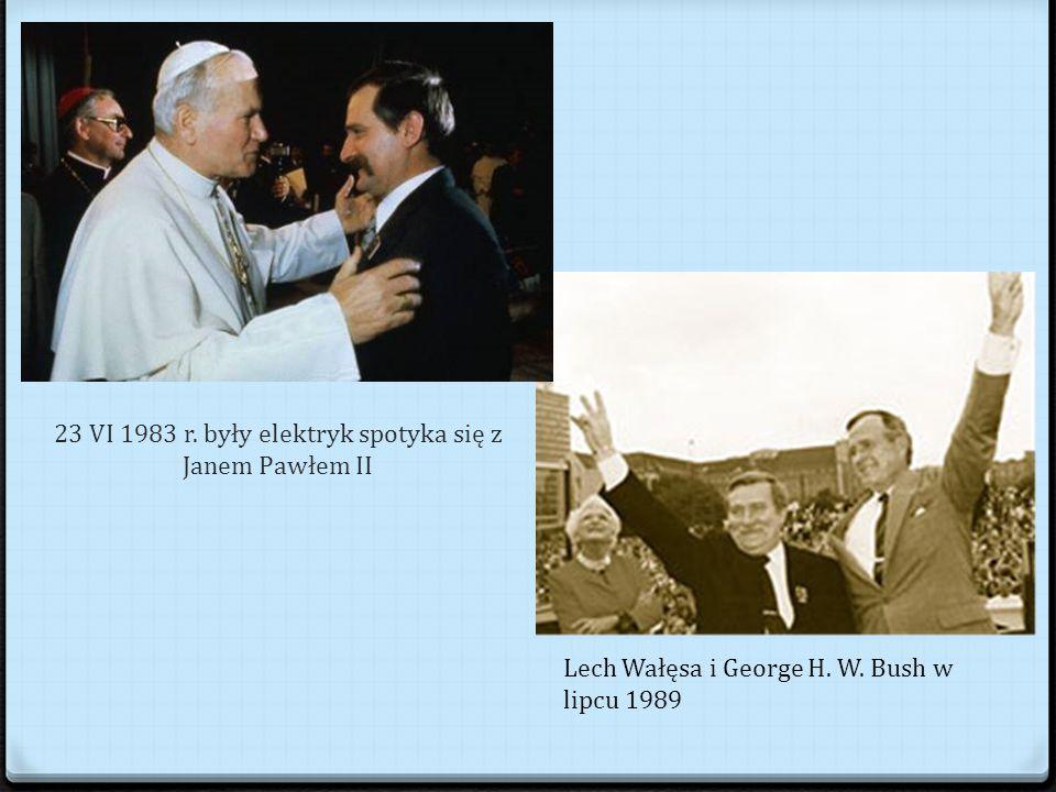 23 VI 1983 r. były elektryk spotyka się z Janem Pawłem II