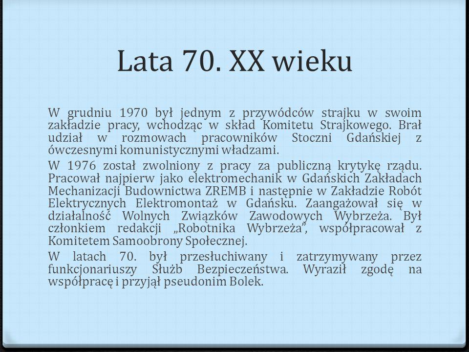 Lata 70. XX wieku