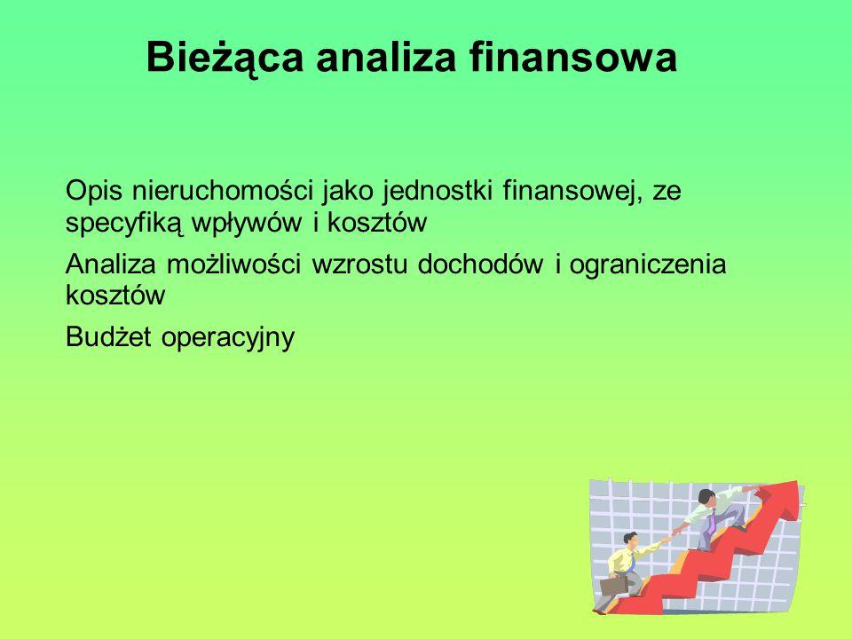 Bieżąca analiza finansowa
