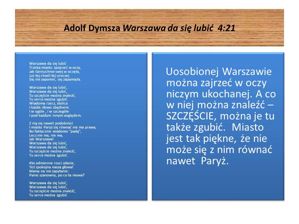 Adolf Dymsza Warszawa da się lubić 4:21