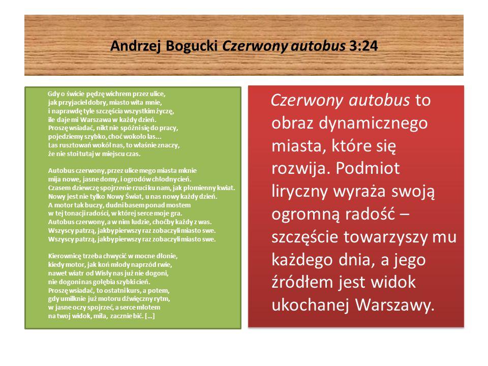 Andrzej Bogucki Czerwony autobus 3:24