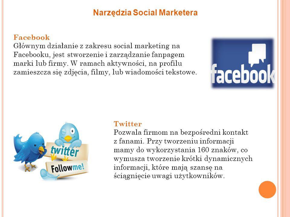 Narzędzia Social Marketera