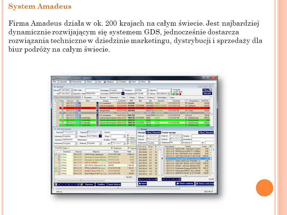 System Amadeus