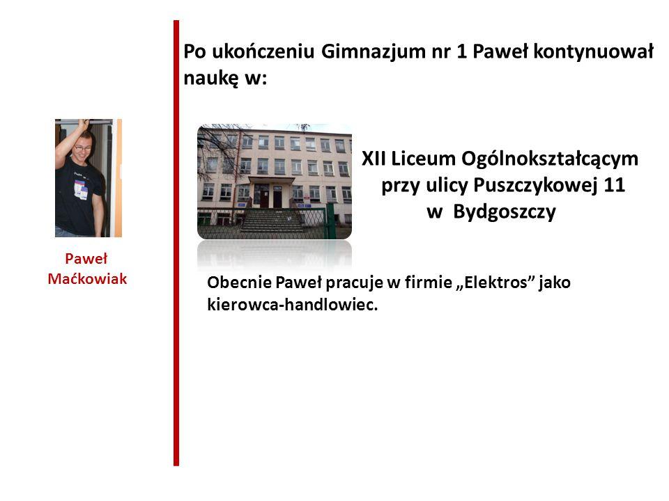 XII Liceum Ogólnokształcącym przy ulicy Puszczykowej 11
