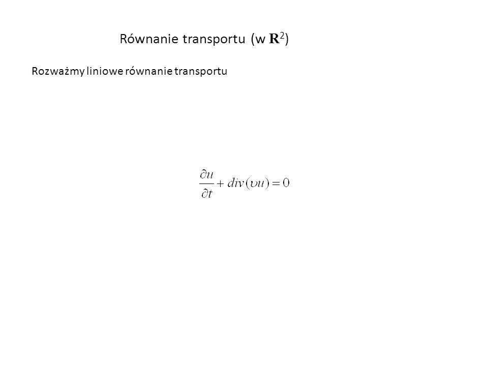 Równanie transportu (w R2)