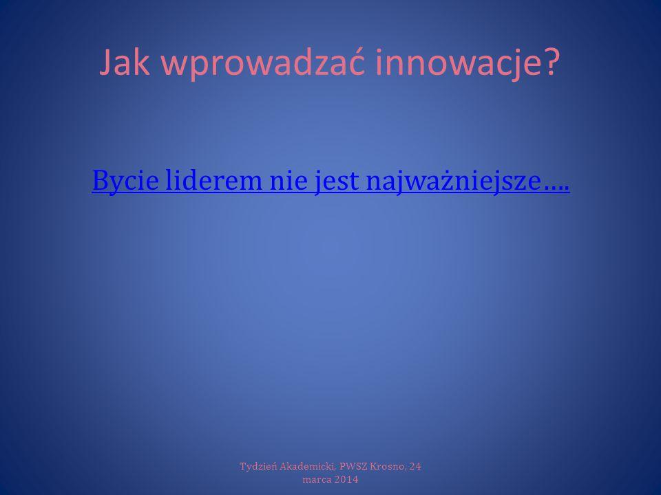 Jak wprowadzać innowacje