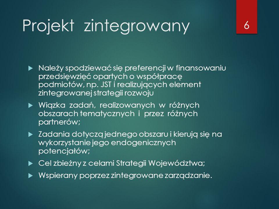 Projekt zintegrowany