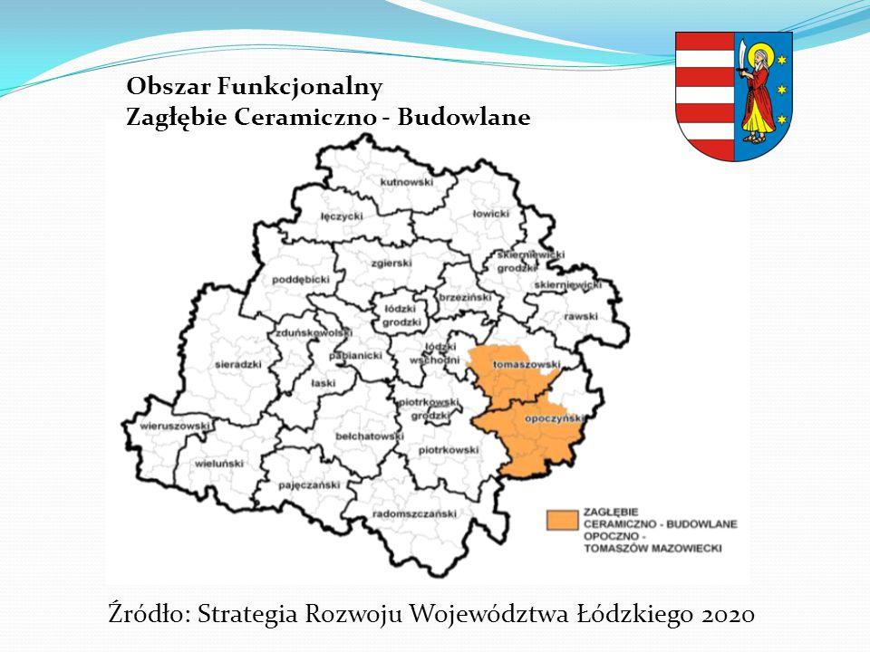 Źródło: Strategia Rozwoju Województwa Łódzkiego 2020
