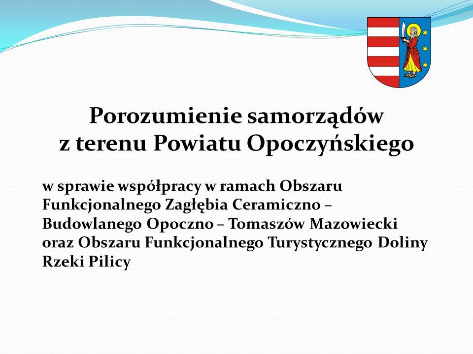 Porozumienie samorządów z terenu Powiatu Opoczyńskiego