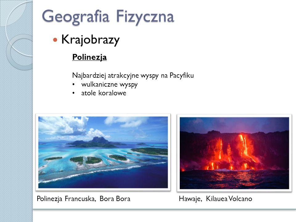 Geografia Fizyczna Krajobrazy Polinezja