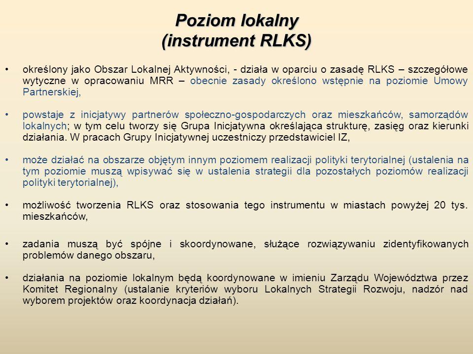 Poziom lokalny (instrument RLKS)