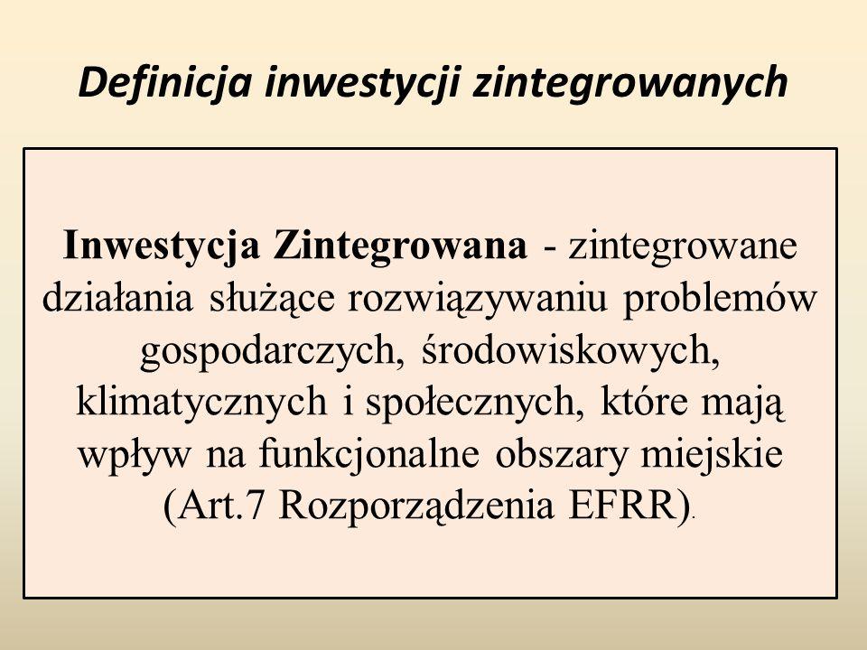 Definicja inwestycji zintegrowanych