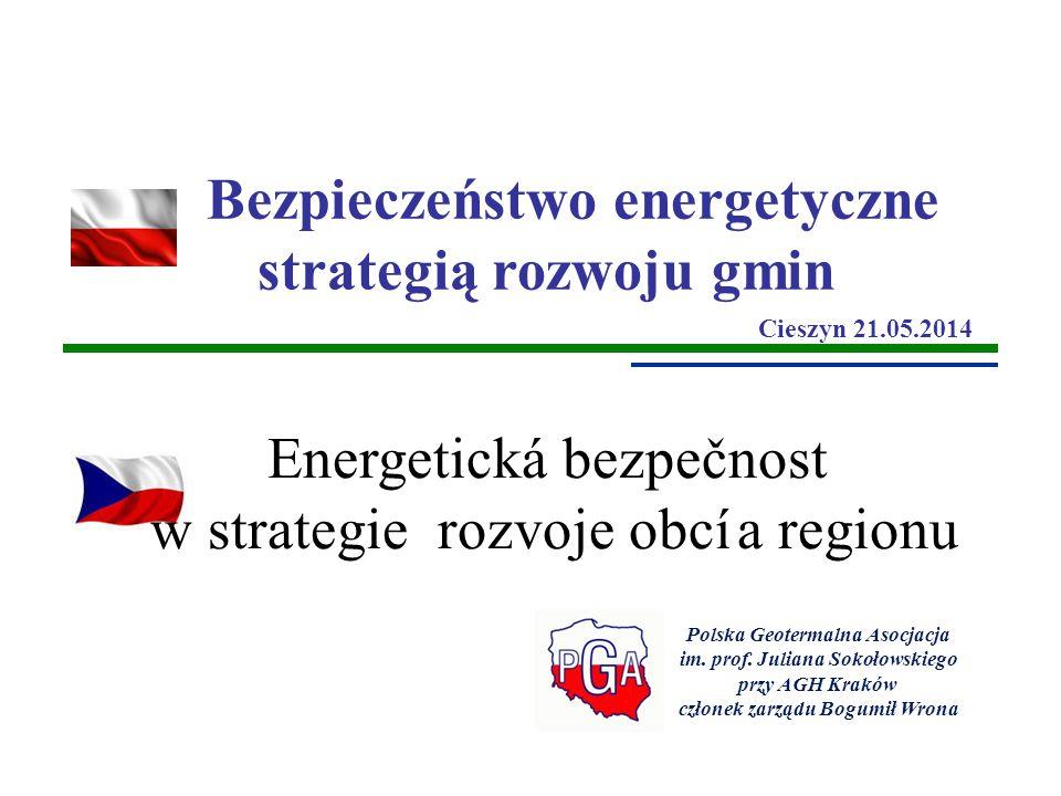 Energetická bezpečnost w strategie rozvoje obcí a regionu