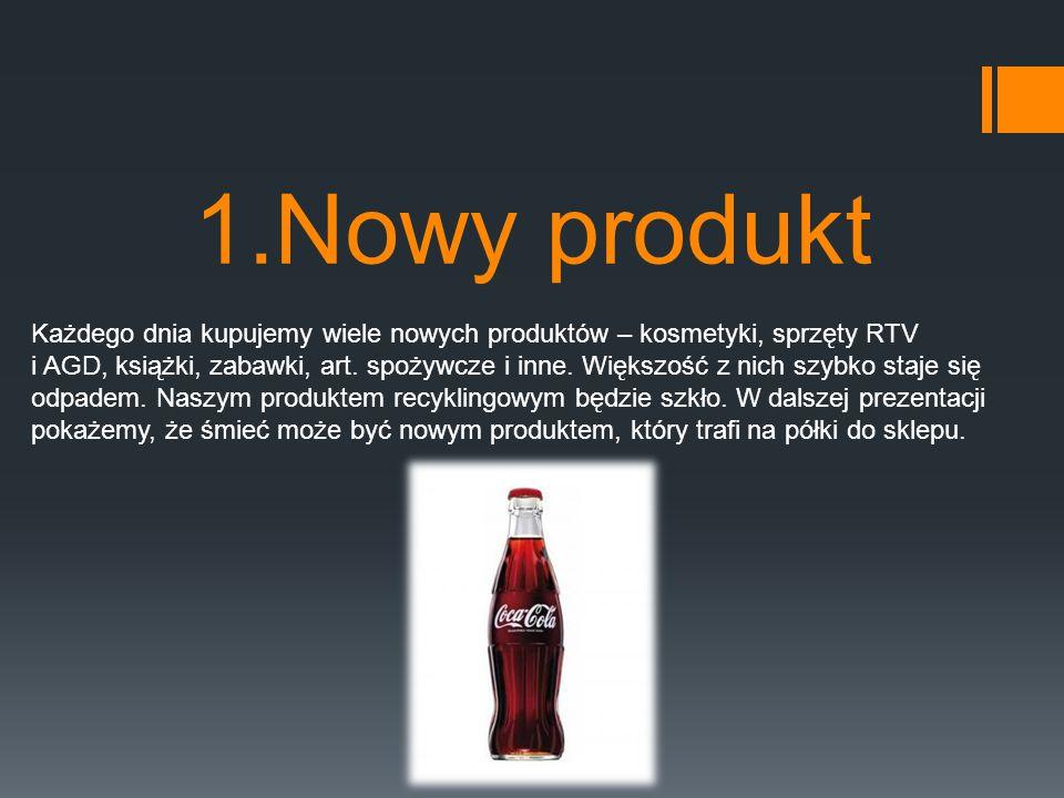 1.Nowy produkt Każdego dnia kupujemy wiele nowych produktów – kosmetyki, sprzęty RTV.
