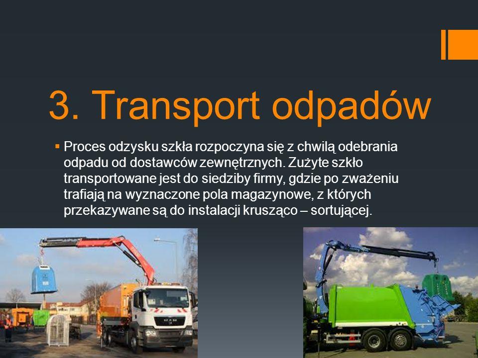 3. Transport odpadów