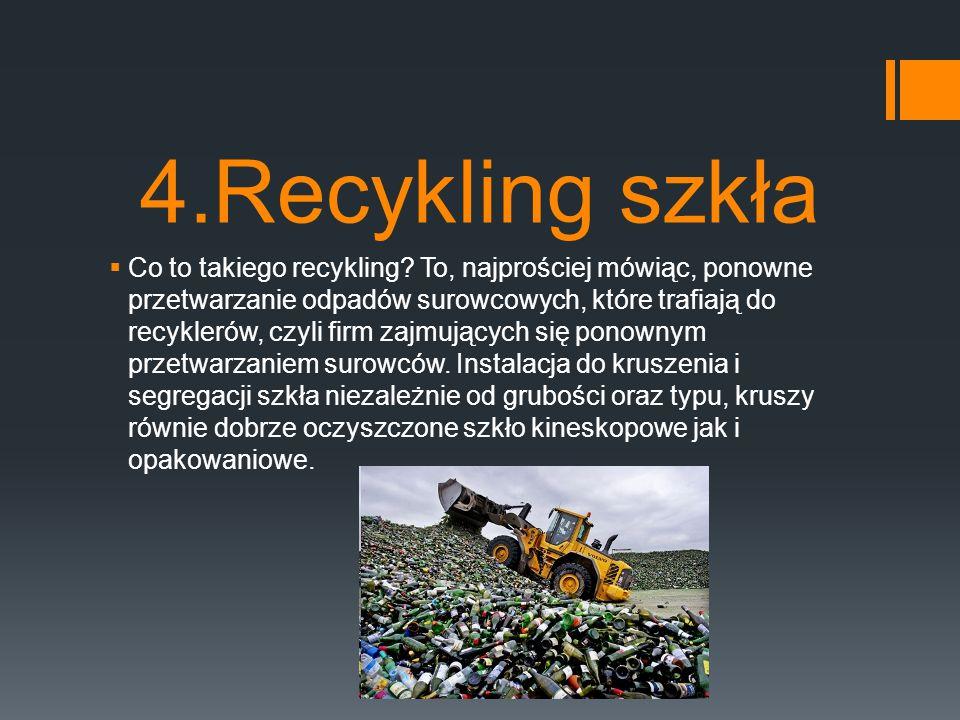 4.Recykling szkła