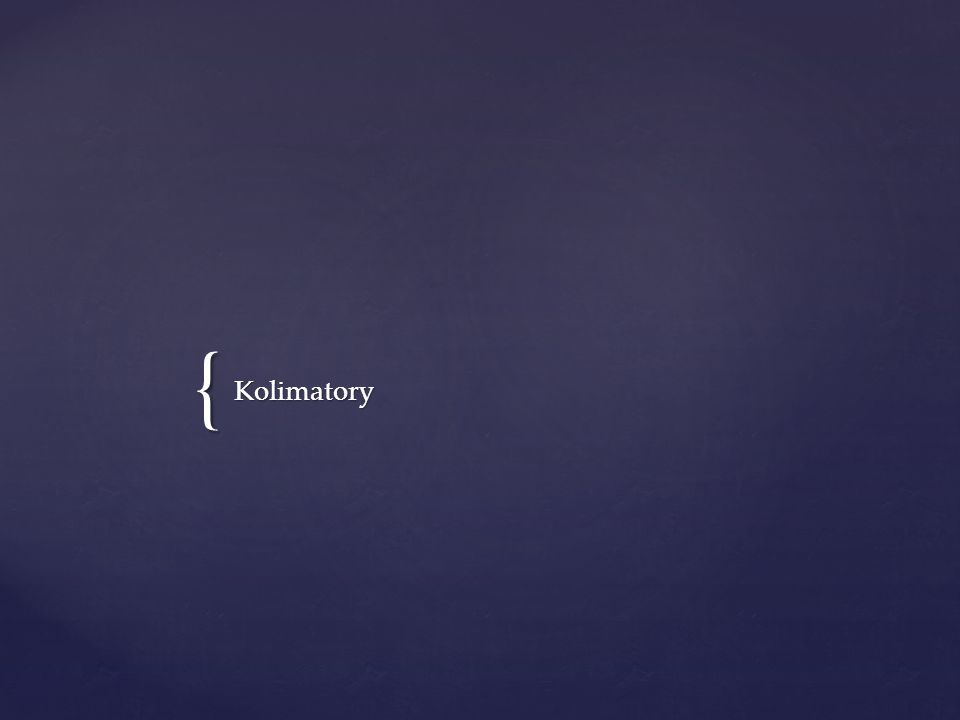 Kolimatory