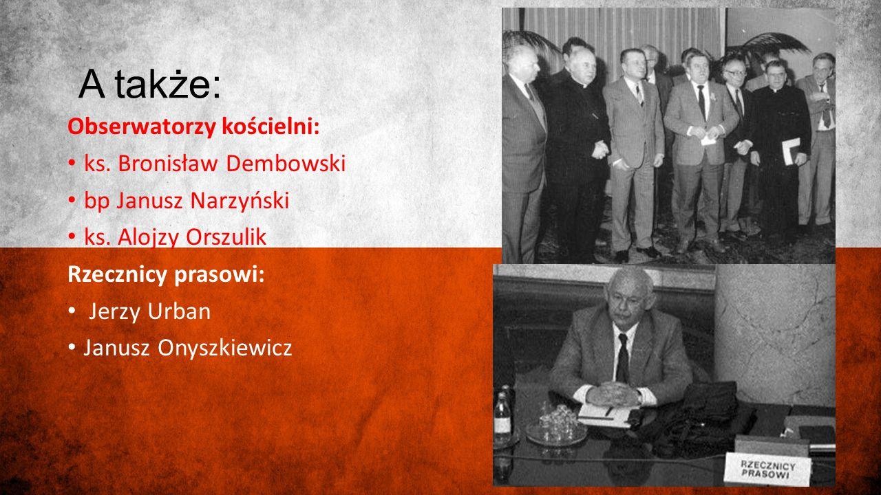 A także: Obserwatorzy kościelni: ks. Bronisław Dembowski