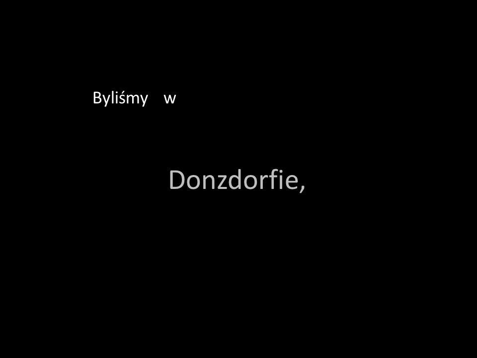 wbyliśByliśmy w Donzdorfie,