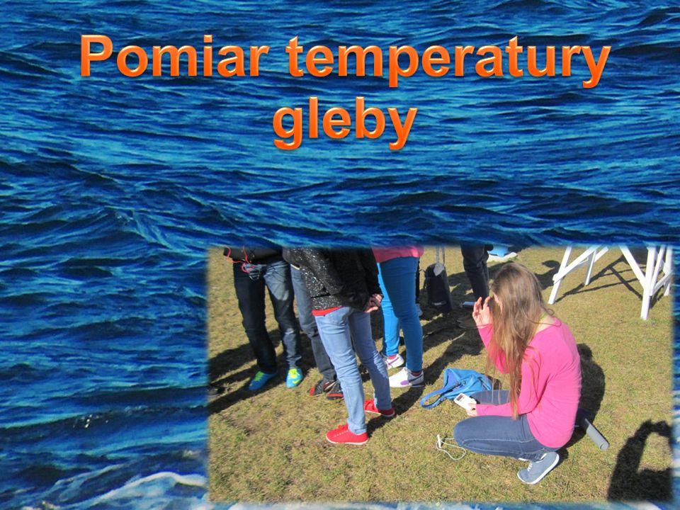 Pomiar temperatury gleby