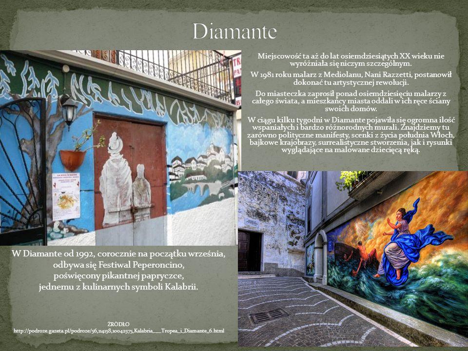 Diamante W Diamante od 1992, corocznie na początku września,