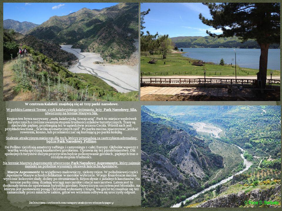 W centrum Kalabrii znajdują się aż trzy parki narodowe.