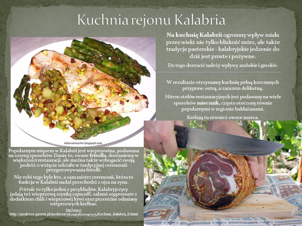 Kuchnia rejonu Kalabria