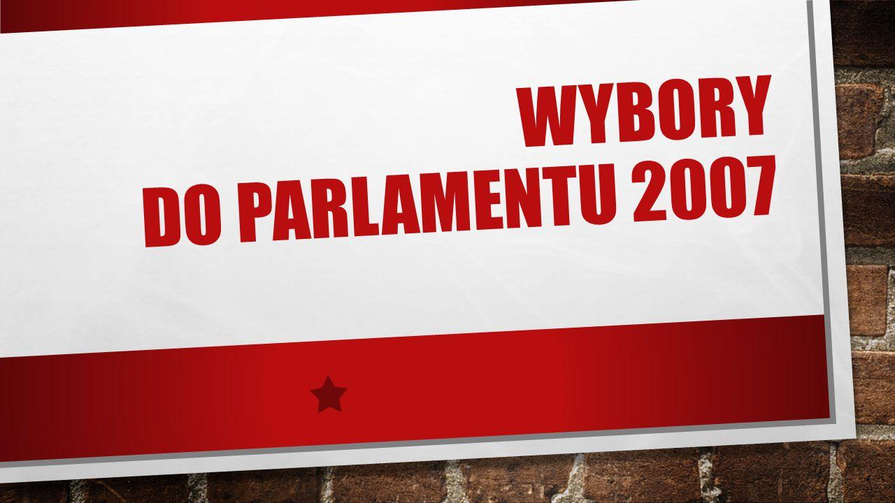Wybory do Parlamentu 2007