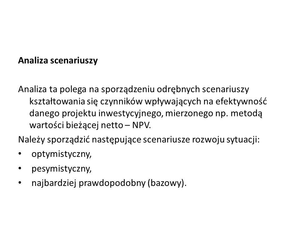 Analiza scenariuszy