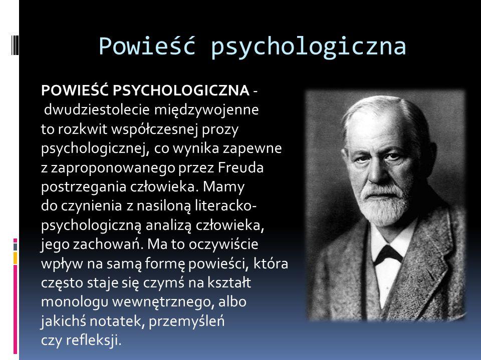Powieść psychologiczna