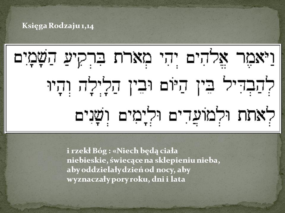 Księga Rodzaju 1,14
