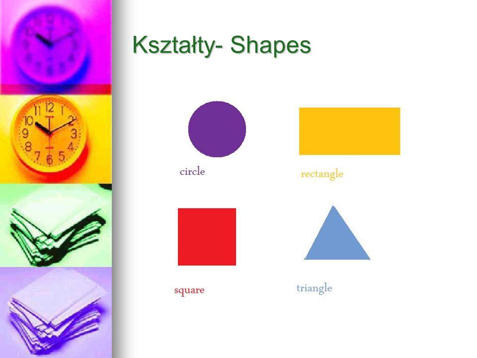 Kształty- Shapes