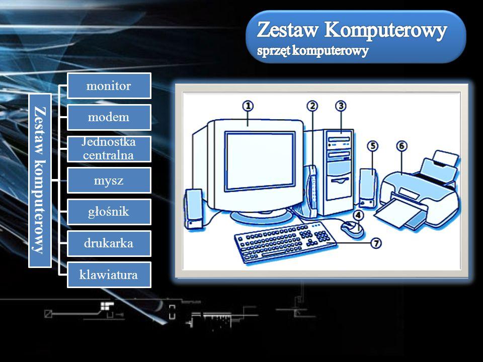 Zestaw Komputerowy sprzęt komputerowy