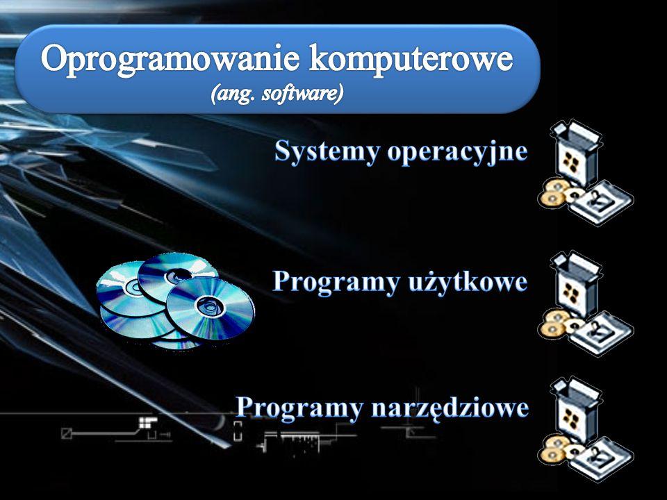 Oprogramowanie komputerowe (ang. software)