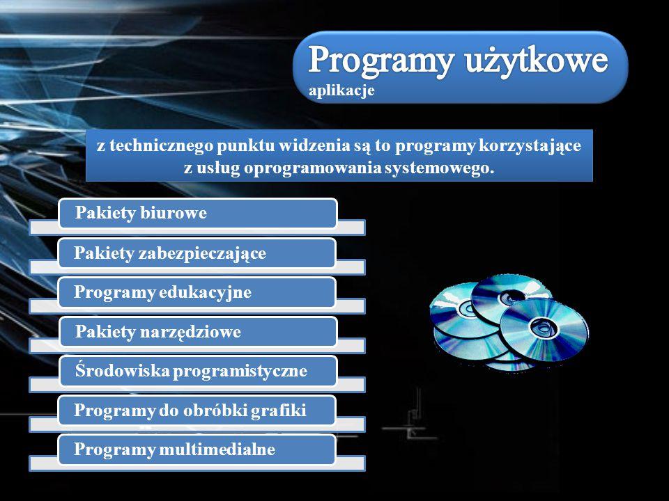 Programy użytkowe aplikacje