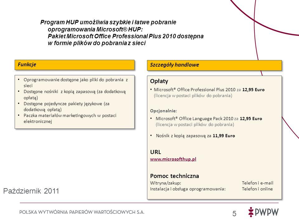 Październik 2011 Opłaty URL Pomoc techniczna