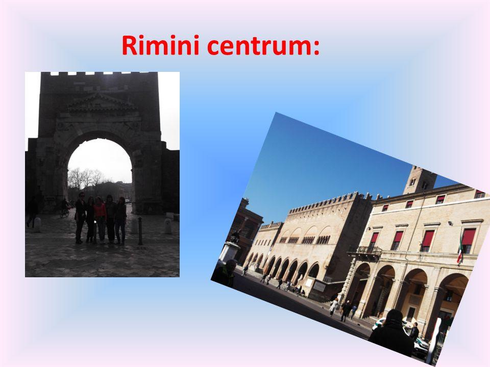 Rimini centrum: