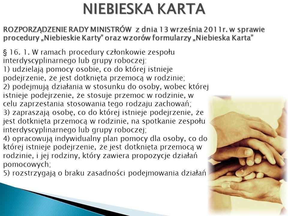 NIEBIESKA KARTA