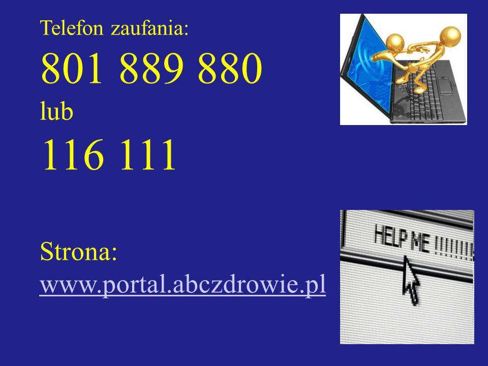 801 889 880 116 111 lub Strona: www.portal.abczdrowie.pl