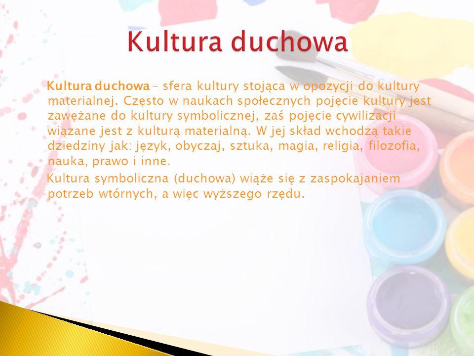 Kultura duchowa
