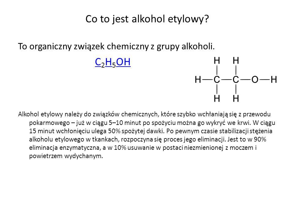 Co to jest alkohol etylowy