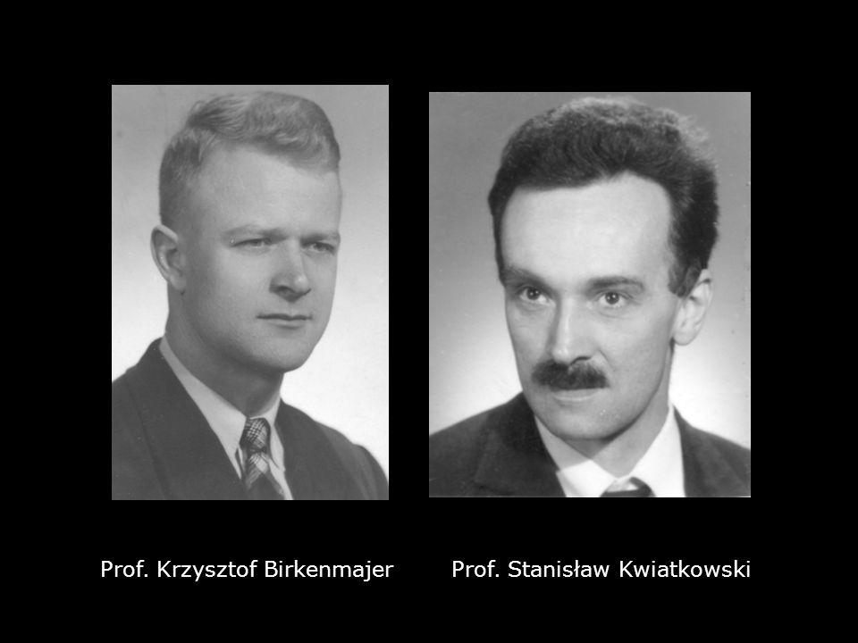 Prof. Krzysztof Birkenmajer